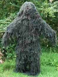 Ghillie suit.  Isn't it cool!
