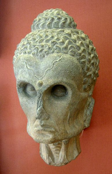 Not all Buddhists/Bohemians are fat.  Here is a carving of the Emaciated Buddha of the 2nd-3rd Century.