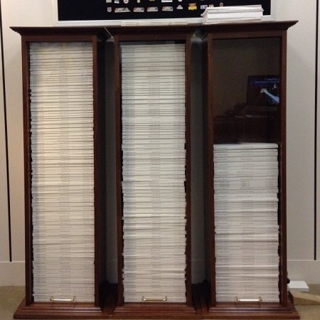Behold my display of the 2013 Federal Register. It contains over 80,000 pages of new rules, regulations, and notices all written and passed by unelected bureaucrats. The small stack of papers on top of the display are the laws passed by elected members of Congress and signed into law by the president. - US Senator Mike Lee