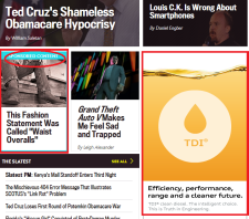 Native Advertising in the Slate