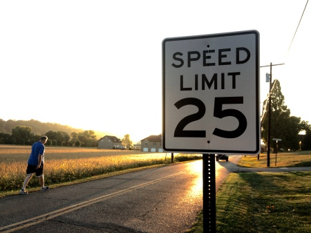 I Promise to Keep All Speculation Under 25 MPH