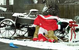 Deflated Christmas Decorations1